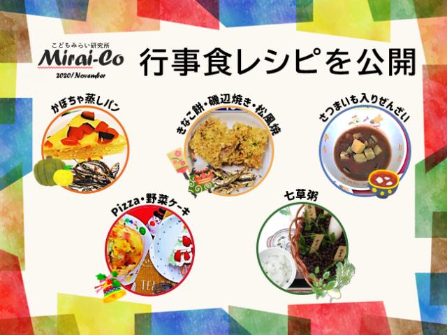 こどもみらい研究所「Mirai-Co」11月研究資料